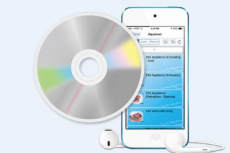 iPadによるチェアサイドでのご説明